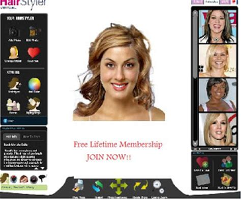 virtual hairstyle  virtual hairstyle makeover