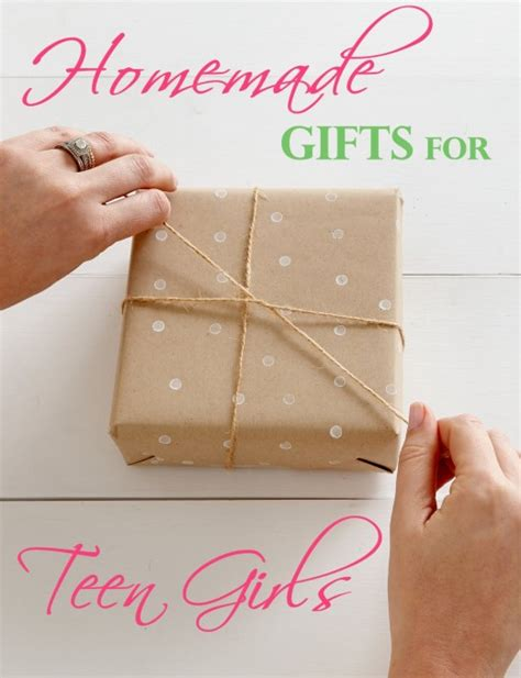 Fab Homemade Gifts For Teens Look Store Bought