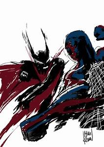 The gallery for --> Spiderman 2099 Vs Batman Beyond