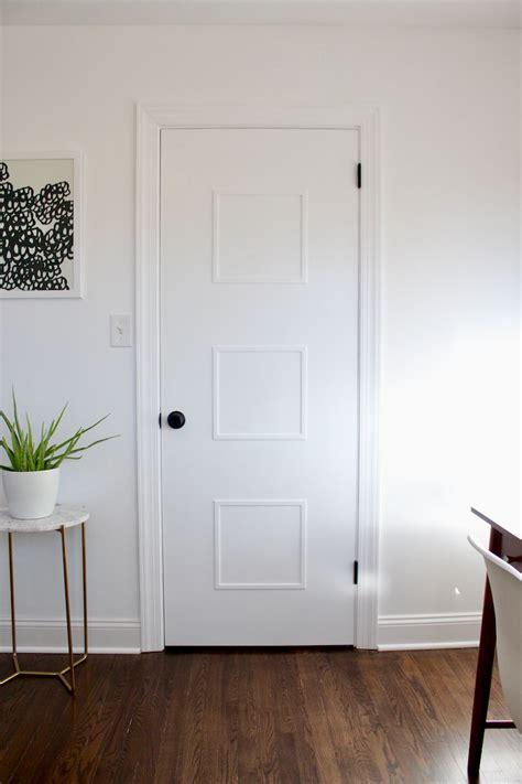Door Makeover by Diy Mid Century Door Makeover