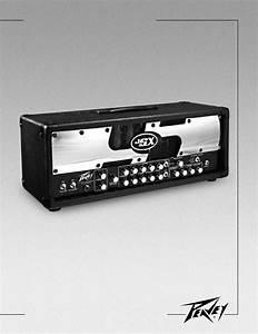 Peavey Stereo Amplifier Jsx Joe Satriani Signature All