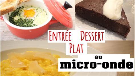 cuisine au micro onde jjc jeudi je cuisine au micro onde entree plat