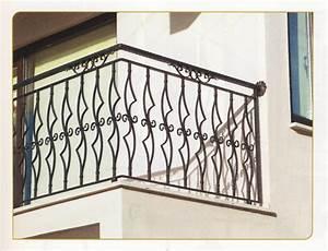 Garde Corps Escalier Fer Forgé : garde corps en fer forg bergama garde corps garde corps escalier balcon en fer forg style ~ Nature-et-papiers.com Idées de Décoration