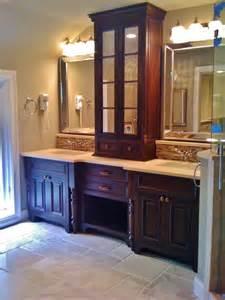 master bathroom  design travertine floors set