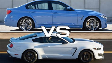 Gt500 Vs Gt350 by Bmw M3 Vs Shelby Mustang Gt350