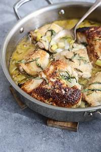 Braised Chicken Recipe with Leeks, Tarragon and Ginger ...
