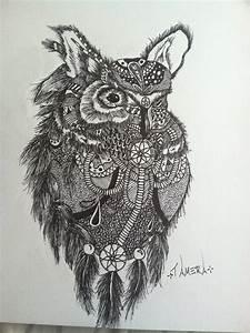 Owl Dream catcher by vampyre4life on DeviantArt