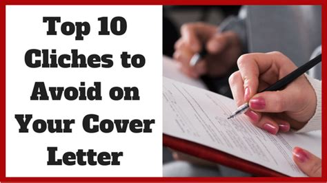 top 10 cliches to avoid on your cover letter noomii