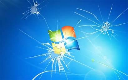 Broken Screen Desktop Wallpapers Windows Cracked Computer
