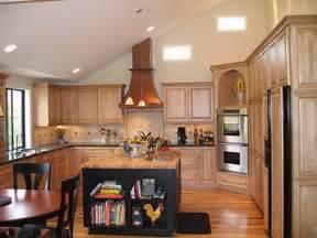 Multi Level Kitchen Island Vaulted Ceiling Kitchen Ideas Home Interior Design