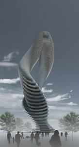 Twisted, Tower, By, Dardan, Metushi, Via, Behance, Creative, Inspiration, Building, U2026