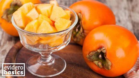 kaki essen gesund die gesunde kaki frucht evidero