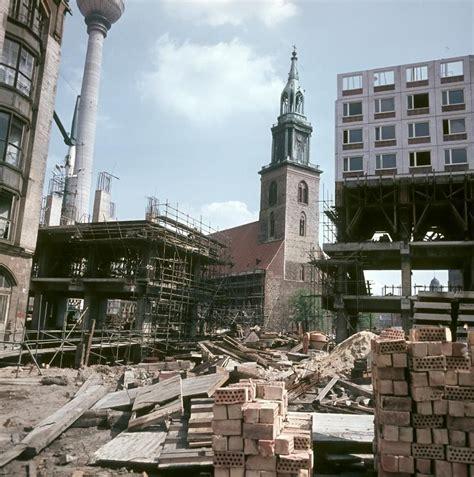 Vintage Berlin Mitte by Berlin 12 05 1969 Am Rande Des Nikolaiviertels In Berlin