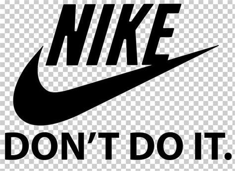 logo nike swoosh brand png advertising black