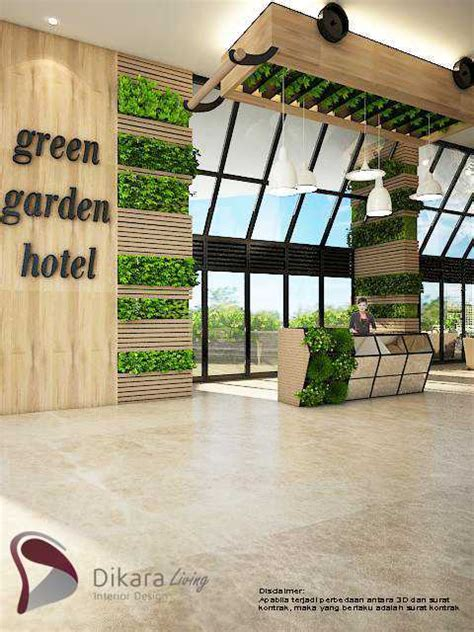 photo  lobby eco green  industrial interior design