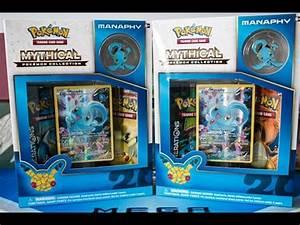 Manaphy Mythical Pokemon Collection Boxes! | Pokemon ...