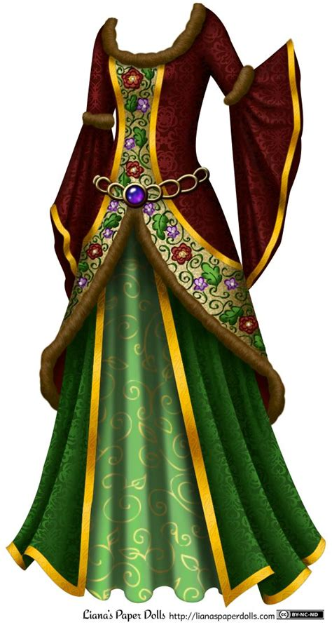 medieval dress clipart clipground
