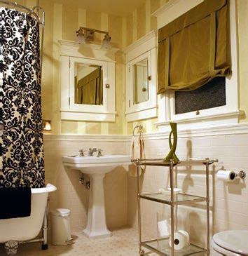 bathroom wallpaper ideas shelterness