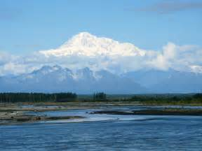 View of Denali From Talkeetna Alaska