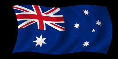 Flag Australian Animated Gifs Australia Monkey Waving