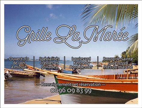 Sainte Luce Telephone by Grille La Mar 233 E Itin 233 Raire Martinique