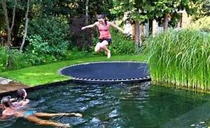 in ground trampoline diy how to install an in ground With built in floor trampoline