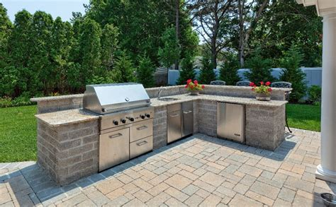 how to build an kitchen island bbq