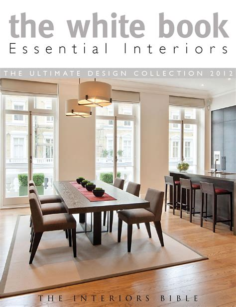 kitchen and dining interior design issuu the white book essential interiors by montague