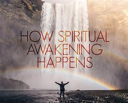 Awakening Spiritual Happens Word Today God Words