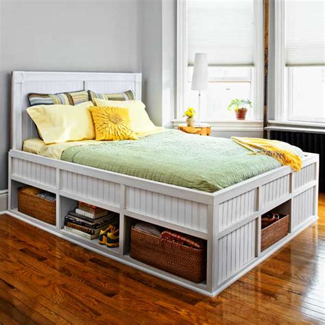 build a bed storage bed 27 ways to build your own bedroom furniture