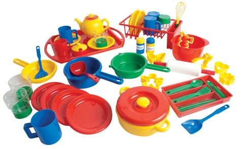 play kitchen accessories school smart durable play kitchen dishes pack pack of 55