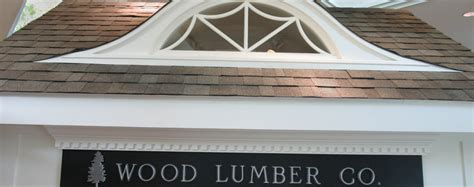 roof window wood lumber company