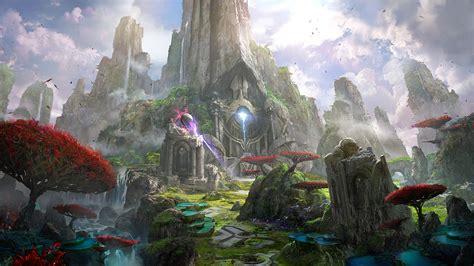artstation epic games paragon concept art james paick