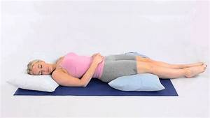 how to sleep on your back with back pain youtube With backache while sleeping