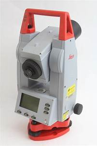 Leica Tcr110c Total Station With Batteries And Charger In Case