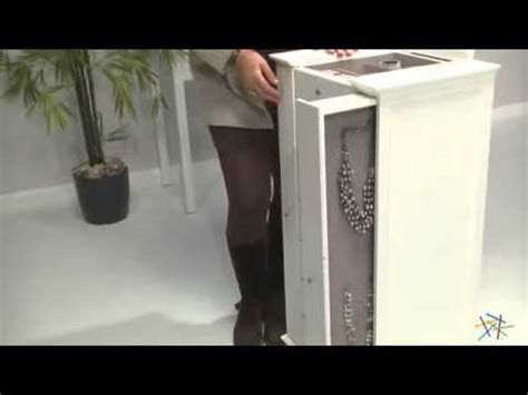 (185 Mb) Free Jewelry Armoire With Quilted Pull Out