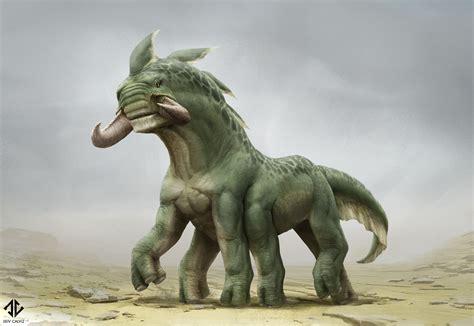 Creature Design - Mammal Alien Thing by DeivCalviz on ...