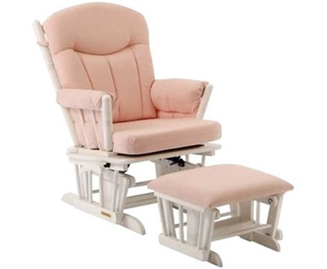 shermag aiden glider and ottoman set white with grey fabric shermag gliders ottoman sets simply baby furniture