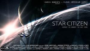 STAR CITIZEN Sci Fi Spaceship Game Poster G Wallpaper