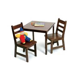 lipper international child s square table and 2 chairs set