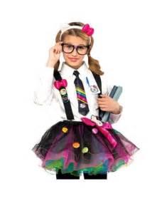 Hello Kitty Nerd Costume Girls