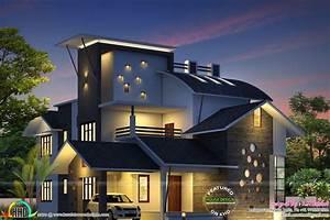 Unique, Model, House, Architecture