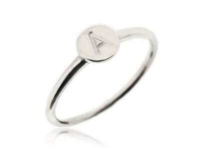 stacking stackable dainty  rings personalized  silver rings size   ebay