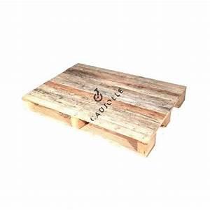 Dimension Palette Europe : palette europe en bois pour table basse ~ Dallasstarsshop.com Idées de Décoration