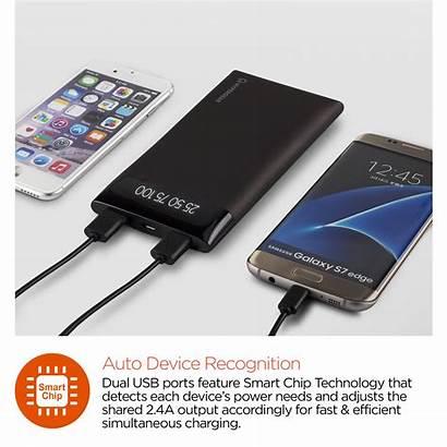 Battery Portable Pack Usb Dual Hypergear Digital