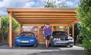 Carport Aus Holz : carports und garagen holzland beese unna ~ Orissabook.com Haus und Dekorationen