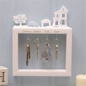 Personalised, Large, Family, Key, Holder, By, Urban, Twist