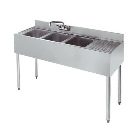 48 3 compartment sink krowne 18 43l 48 quot 3 compartment sink w 10 quot w x 14 quot l bowl
