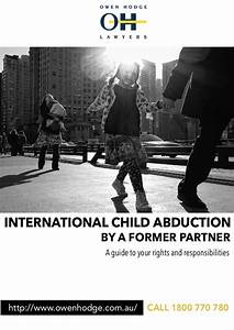 International Child Abduction By A Former Partner