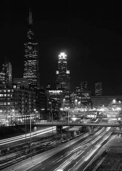 Gifs Night Town Aesthetic Skyscraper Travel